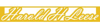 Harold H Leese Funeral Directors Logo